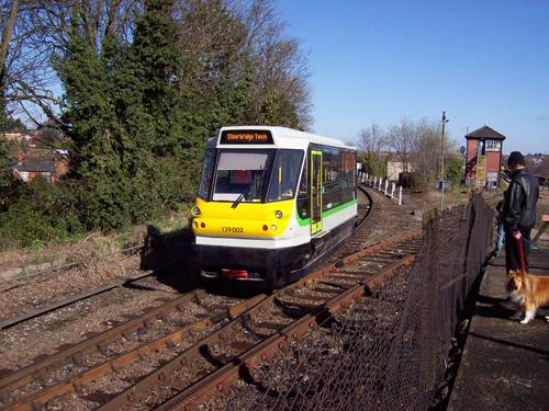 Light rail could look similar to the one pictured in Stourbridge, West Midlands. Photo thanks to JPM Parry and Associates