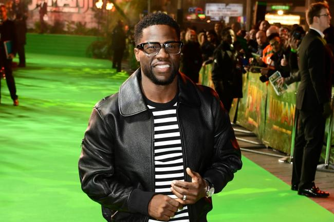 Kevin Hart on the red carpet