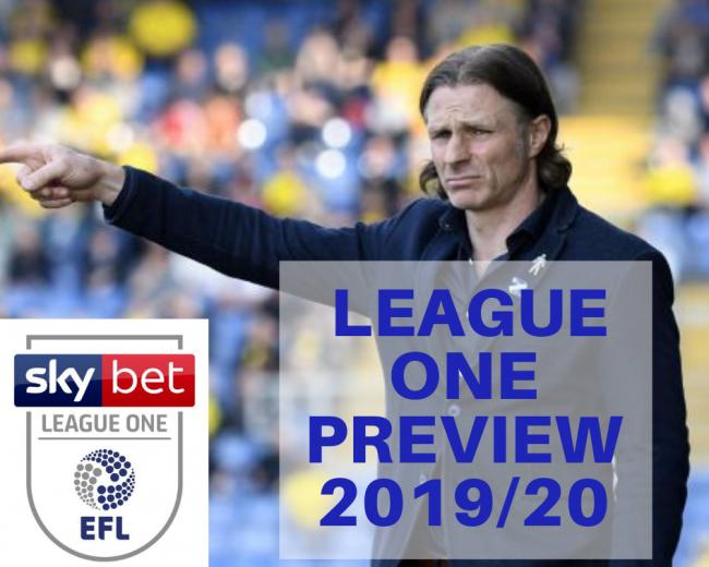 LEAGUE ONE PREVIEW - All the teams and their chances this season