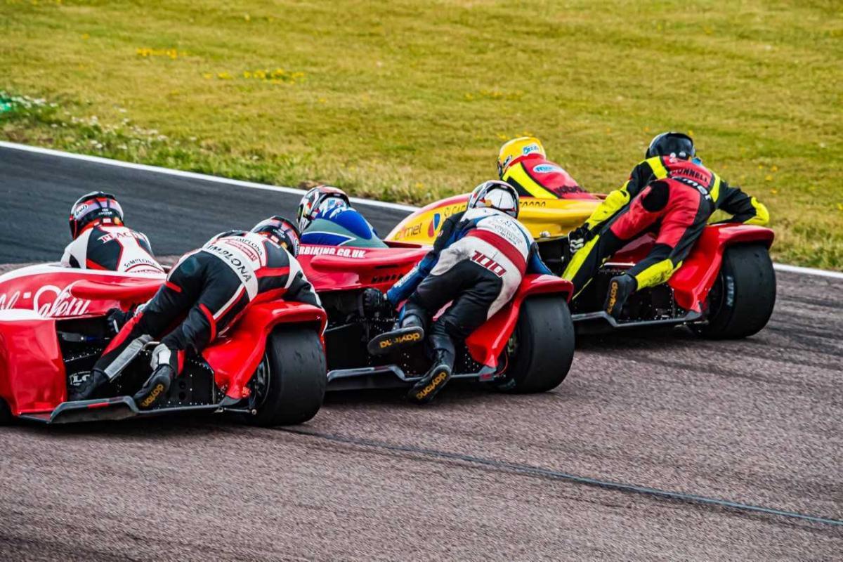 British Sidecar Championship: Tommy Philp and Jonny Allum