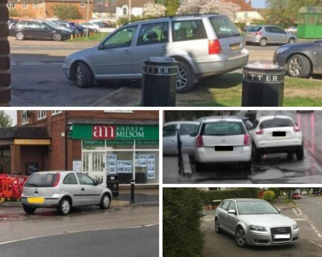 Outrageous parking - have you seen worse than this?