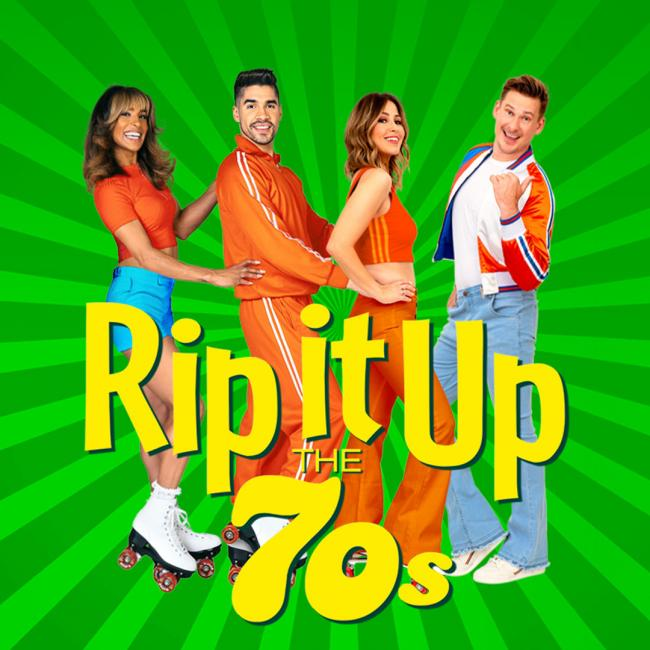 The cast of Rip It Up The 60's