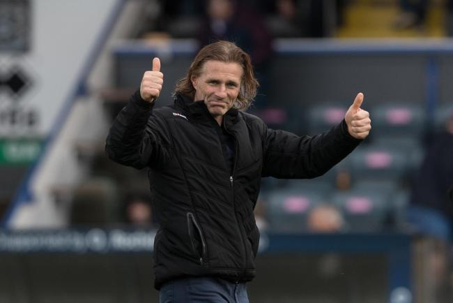 Wycombe Wanderers manager Gareth Ainsworth has nice selection problems ahead of his side's home match with Peterborough. Photo: Andy Rowland