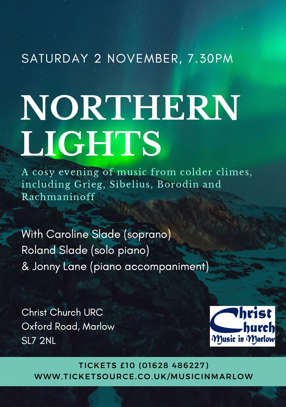 """Northern Lights"" - song recital by Caroline Slade"
