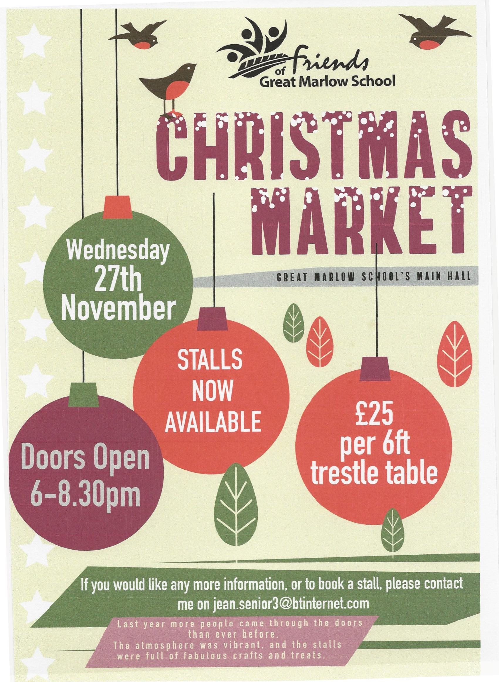 Great Marlow School Christmas Market