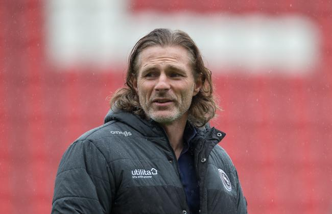 Wycombe Wanderers manager Gareth Ainsworth. Photo: PRiME Media Images