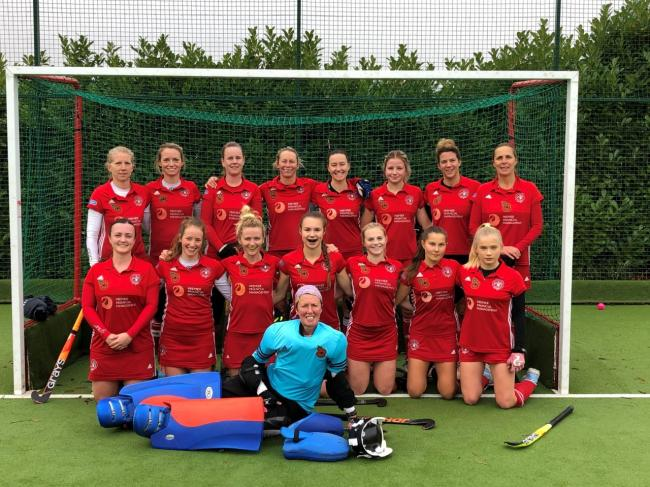 The Marlow ladies first team drew 2-2 against Teddington at Pound Lane in the South Clubs Hockey League Division One on Saturday.