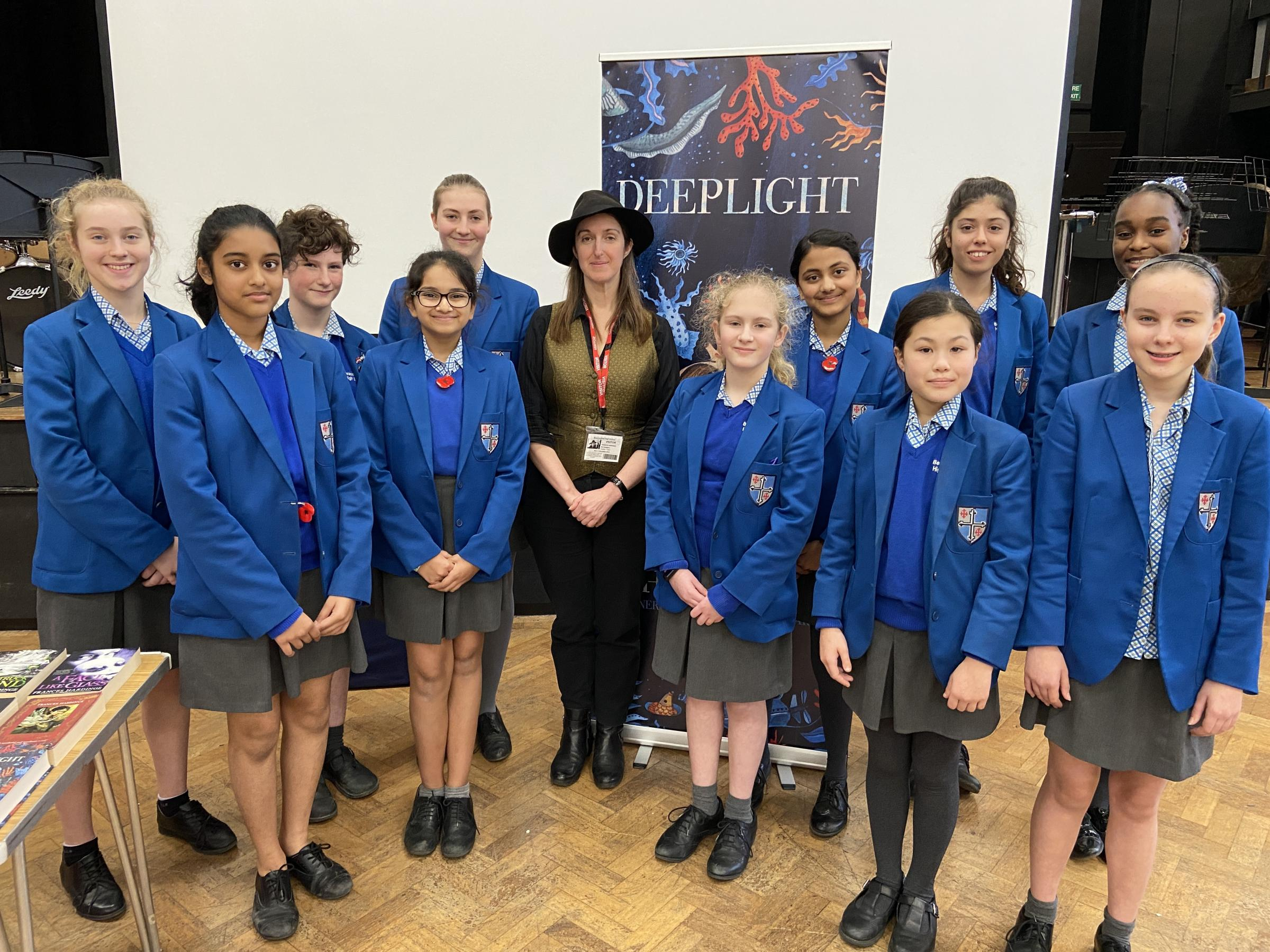 Renowned author visits pupils at Beaconsfield High School - Bucks Free Press