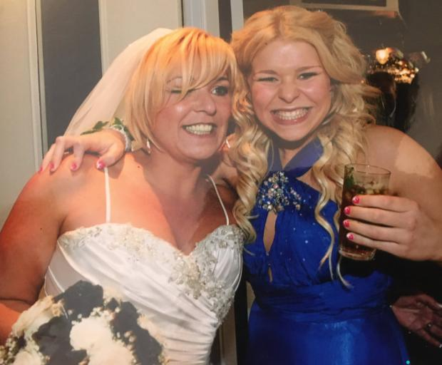 Bucks Free Press: Tracey and her daughter Chloe