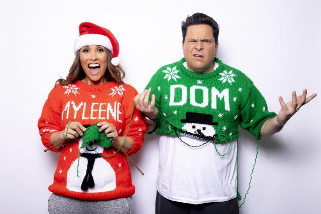 Myleene Klass and Dom Joly