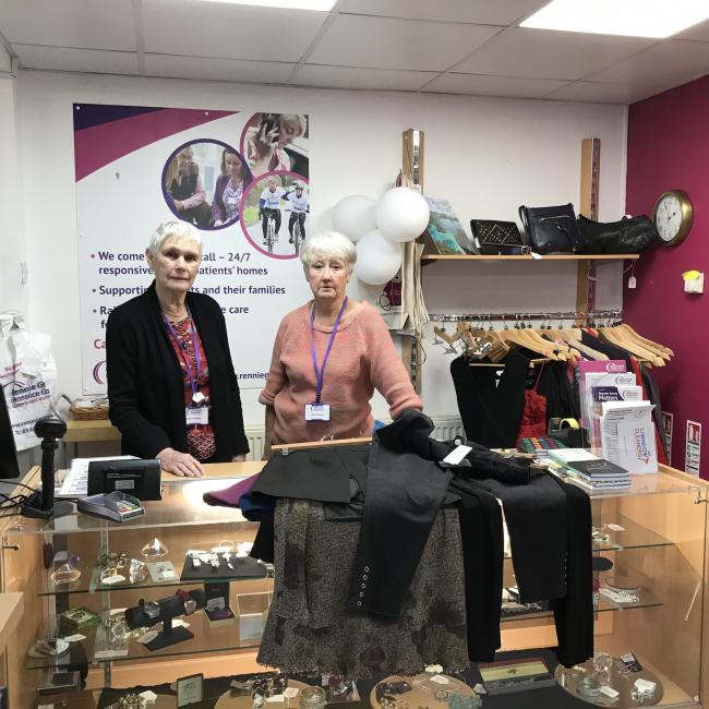 Staff and volunteers at Rennie Grove's charity shop in Holmer Green are feeling distressed and upset following several break ins in recent weeks