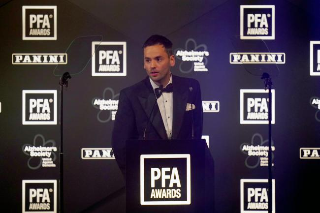 PFA chairman Ben Purkiss says the independent review into how the union is governed must continue on its course