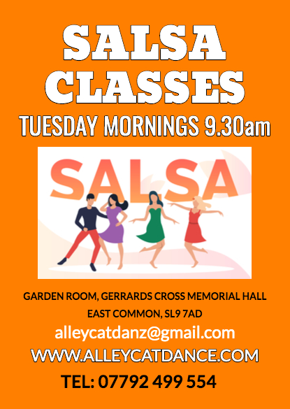 Salsa Dance Classes - all welcome