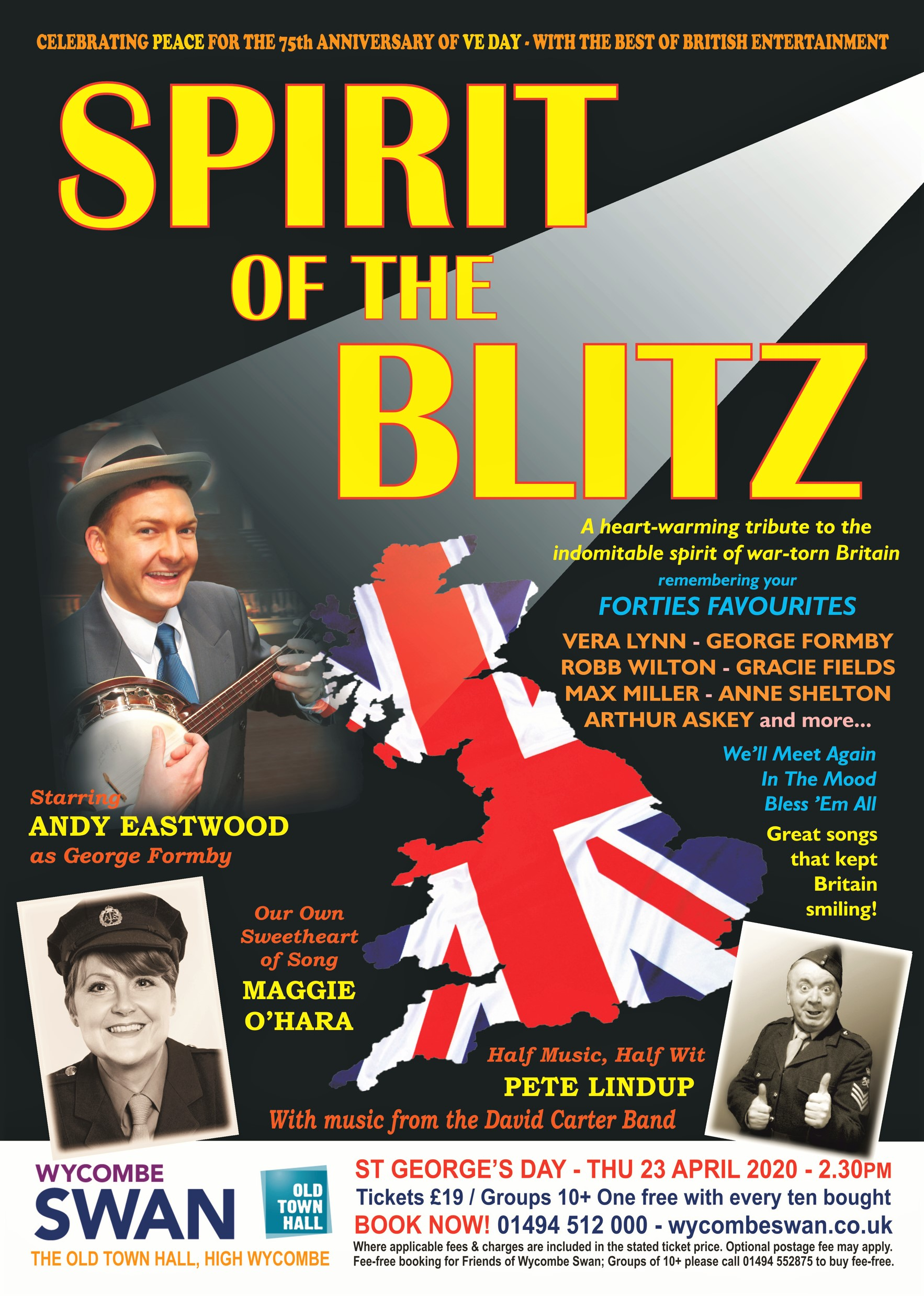 Spirit Of The Blitz - St George's Day Special