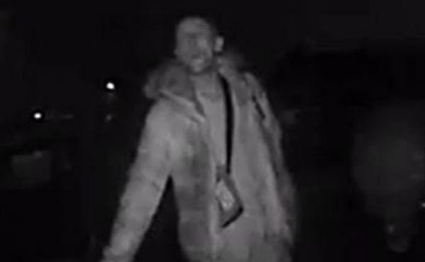 CCTV image of man who is believed to have vital information on a attempted car theft