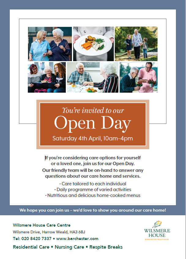 Wilsmere House Open day