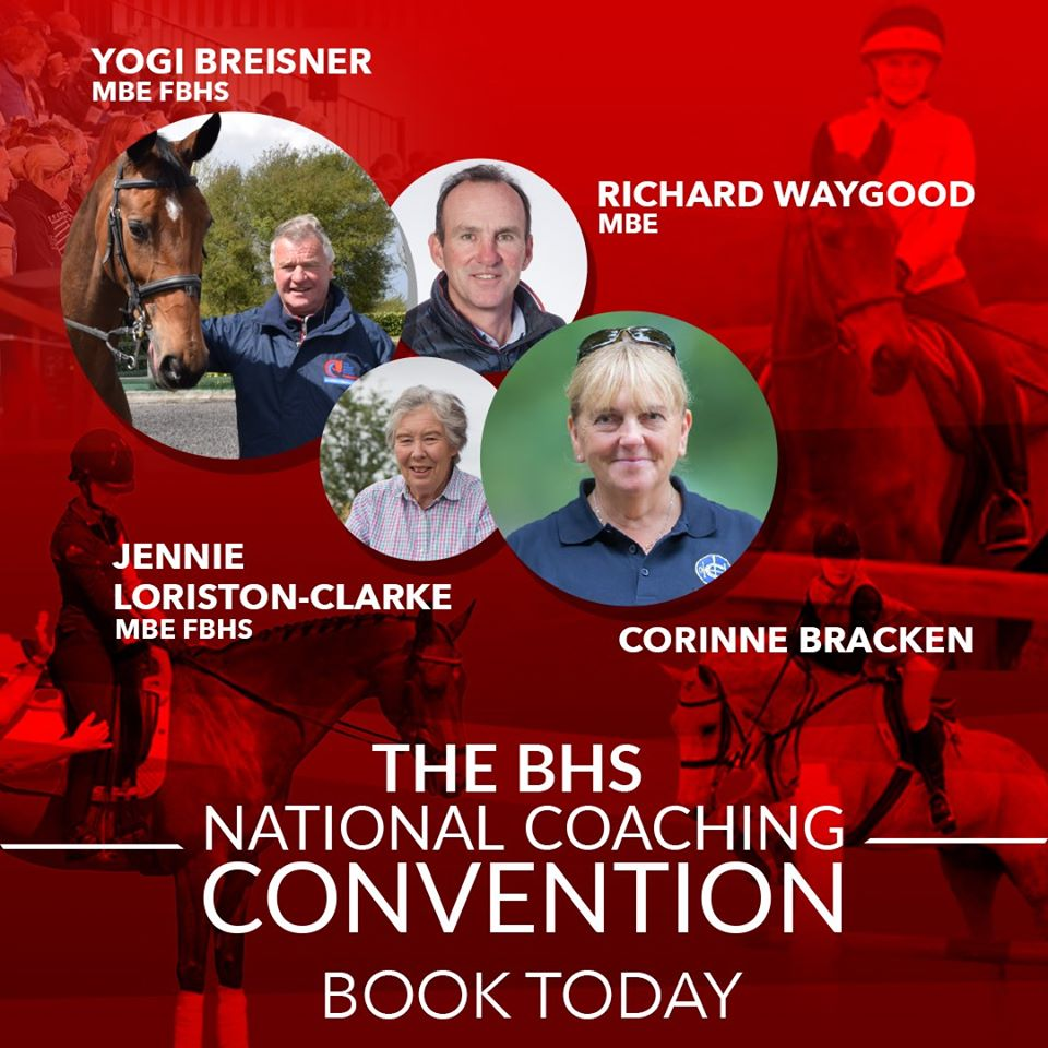 The BHS National Coaching Convention