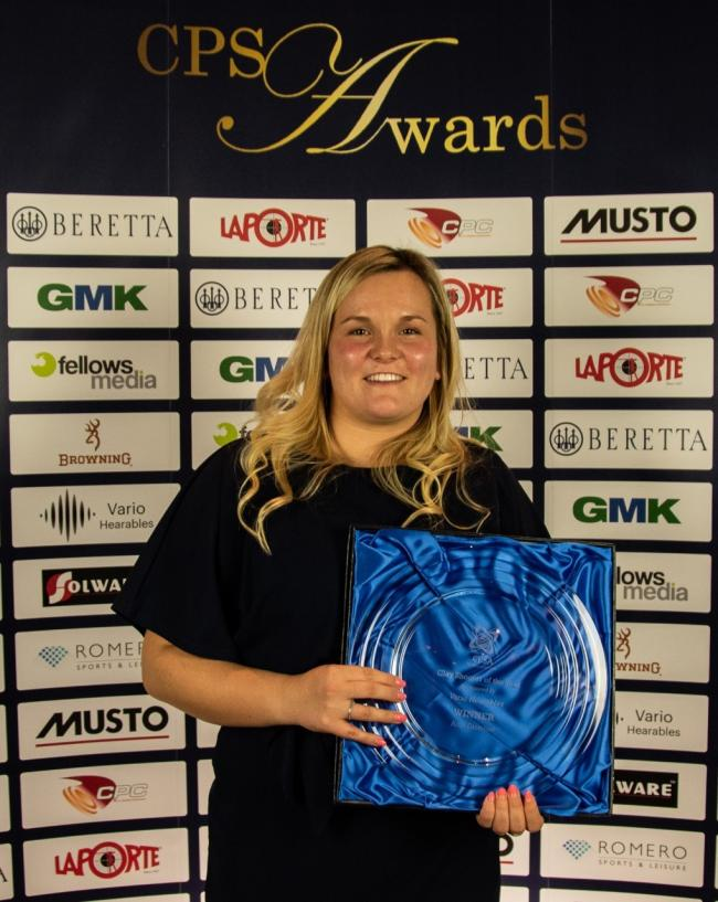 Buckinghamshire star Amy Easeman was named the England Clay Shooter of the Year at the 2020 Clay Pigeon Shooting Association (CPSA) Annual Awards at The Belfry Hotel in Sutton Coldfield.
