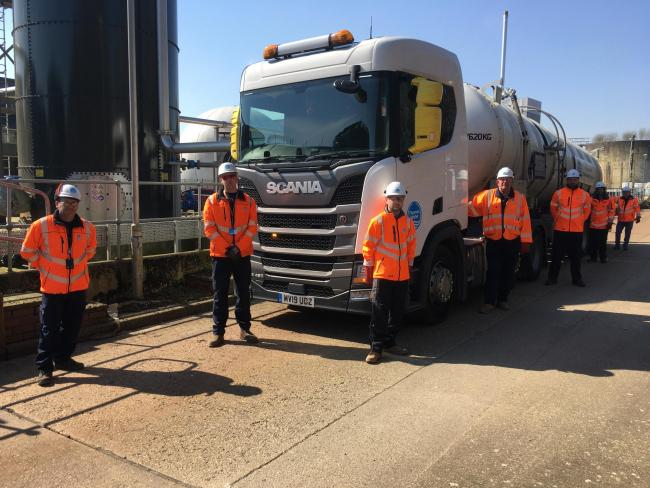 Thames Water has recruited HGV drivers during the COVID-19 outbreak