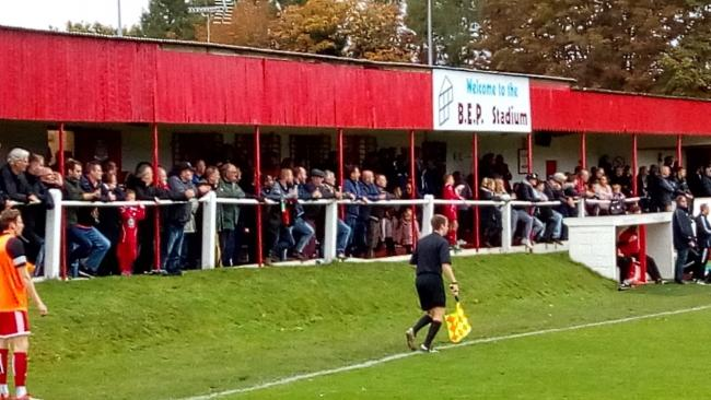 Risborough were unbeaten in 23 matches in the Hellenic League Division One East and had only nine games to play to stay invincible. Rangers had the leading goals scorer in the division – Brian Haule – and one of the best attendances with the n