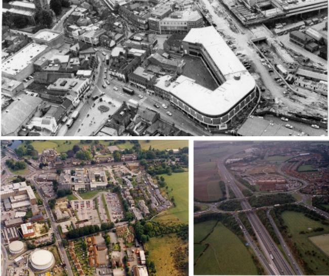 See how much Wycombe has changed in these old aerial photos