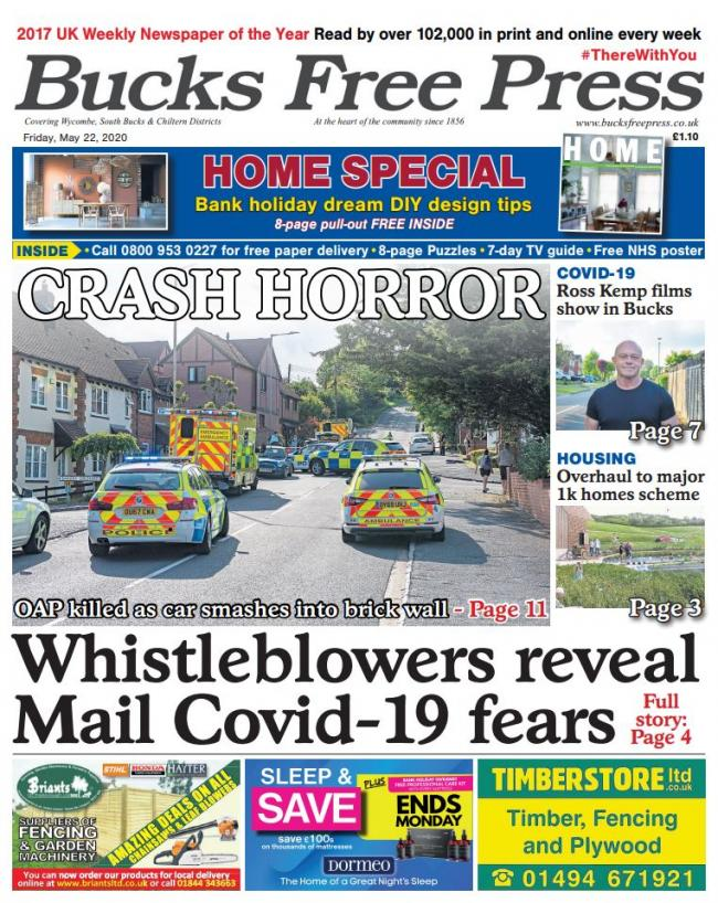 This week's Bucks Free Press (May 22, 2020)