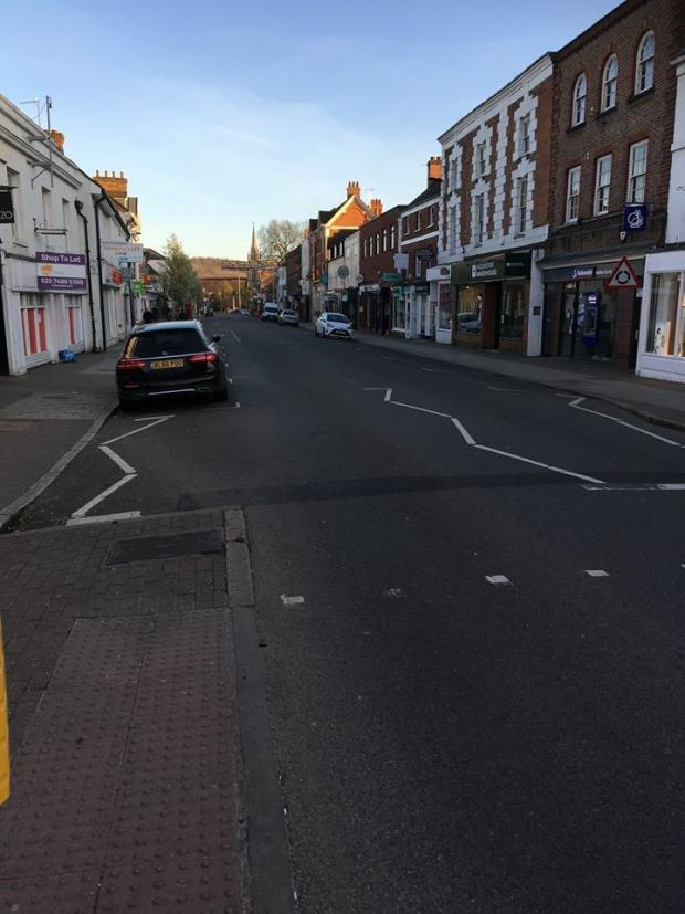 Marlow High Street (photo by Jim Lassen)