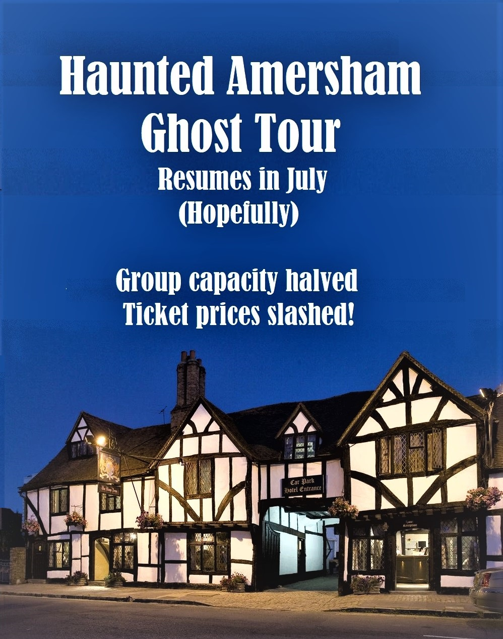 Haunted Amersham Ghost Tour