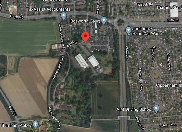 Demolition of former pharma site to make way for 165 flats (credit to Google Maps)