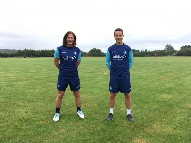 Gareth Ainsworth (left) and Sam Grace (right)