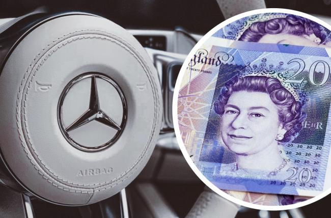 A million British drivers could soon be handed £10,000 in cash each from car manufacturer Mercedes. Picture: Newsquest
