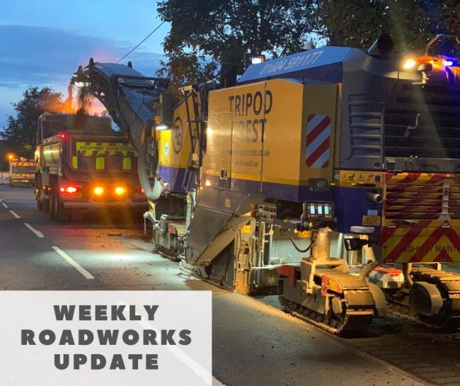 ROADWORKS: 22 roads to be worked on this week - full list