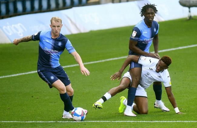 It was Wycombe's third loss in a row (Victoria Jones/PA)
