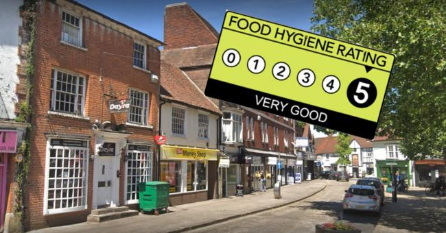 Latest food hygiene ratings from around Aylesbury