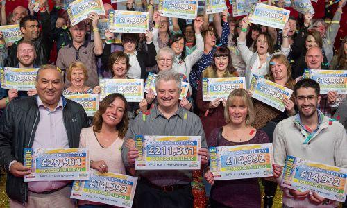 Four years ago 159 Bucks residents took home a share of the mega  £3m jackpot. (Image - People's Postcode Lottery)