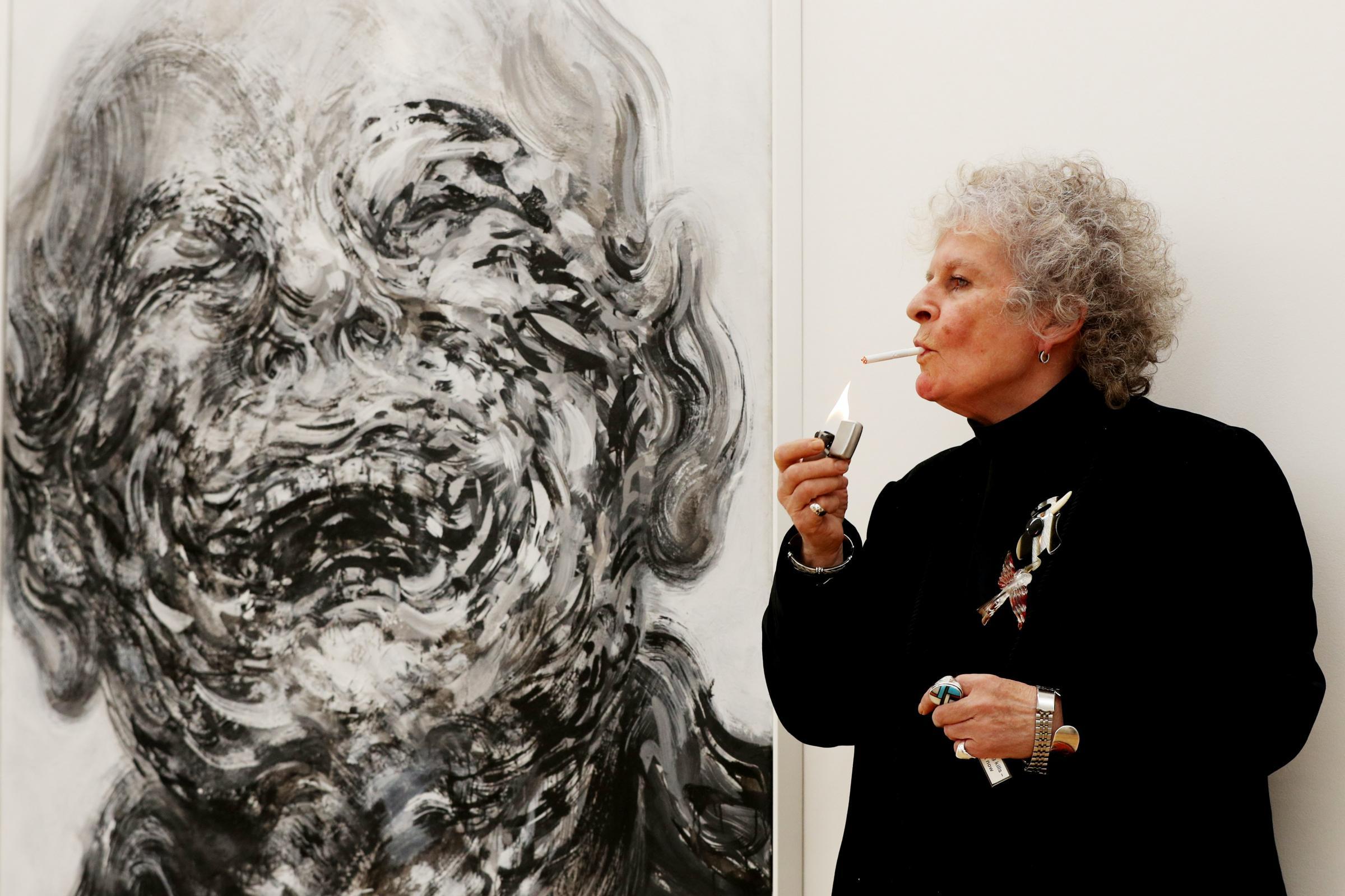 Painter Maggi Hambling opens exhibition of lockdown works | Bucks Free Press