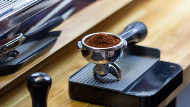Bucks Free Press: A kitchen scale can help you navigate the bean-to-water ratio for the perfect brew. Credit: Getty Images / Chepko