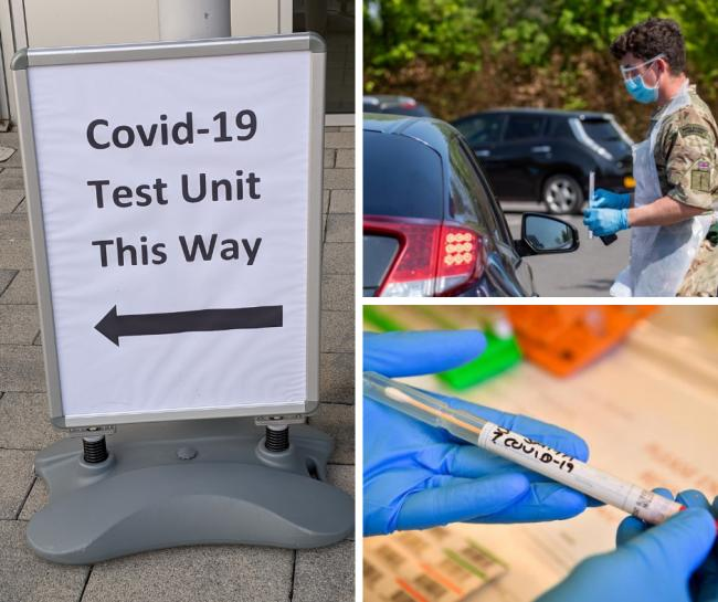 This is where you can get a coronavirus test in Bucks this week