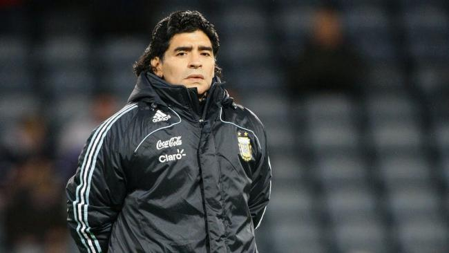 Diego Maradona dies, aged 60. Picture: PA