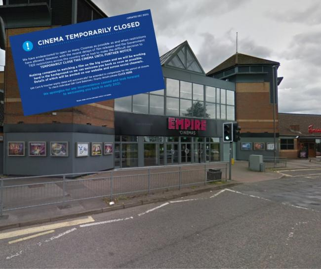 Empire Cinema in High Wycombe will stay shut until next year