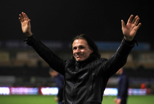 Gareth Ainsworth (Adam Davy/PA)