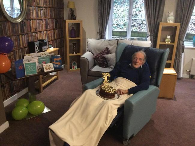 Thomas Buttling turned 90 this week