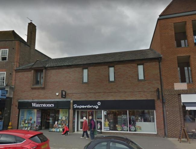 Waterstones and Superdrug in Amersham to go for new flats and shops