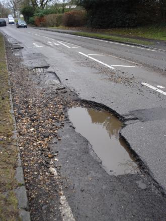 Council pothole payouts drop to zero
