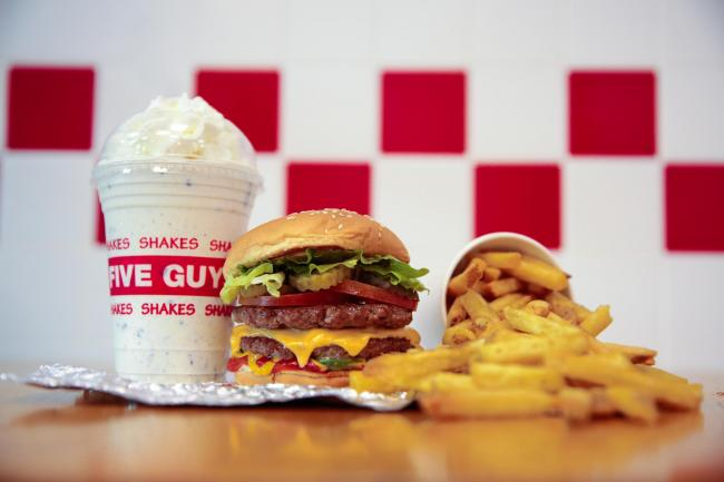 Five Guys is coming to High Wycombe