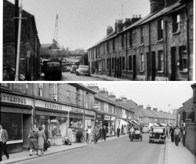 Here's what these High Wycombe streets looked like in the 1950s