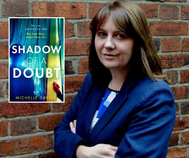 Michelle Davies releases her new novel Shadow of a Doubt