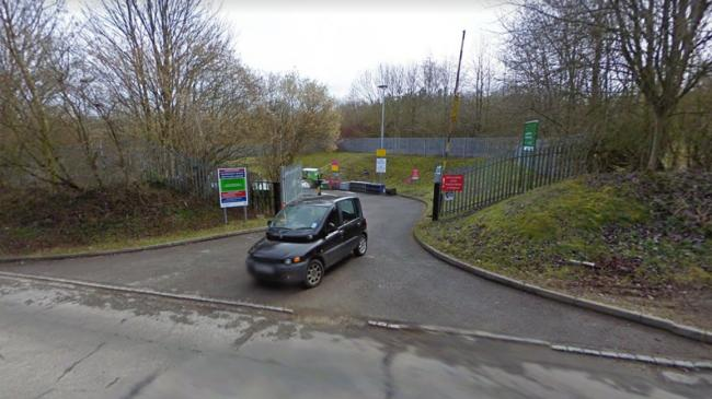 PICTURED: Bledlow Ridge Household Recycling Centre
