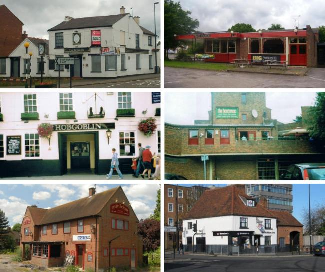 These are the lost pubs of High Wycombe