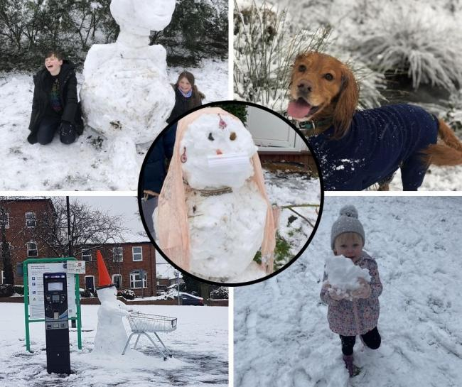 These are 23 of your best snow day pictures